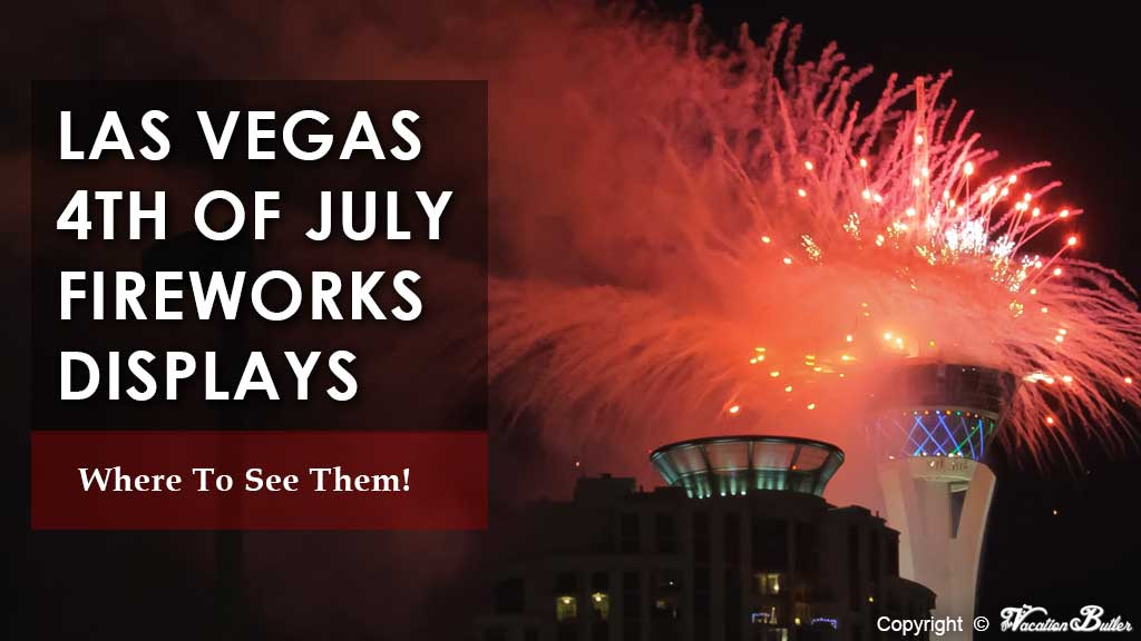Stratosphere Tower Fireworks Display