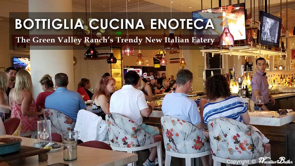 Bottiglia Cucina Enoteca At The Green Valley Ranch