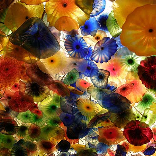 Bellagio Flower Ceiling